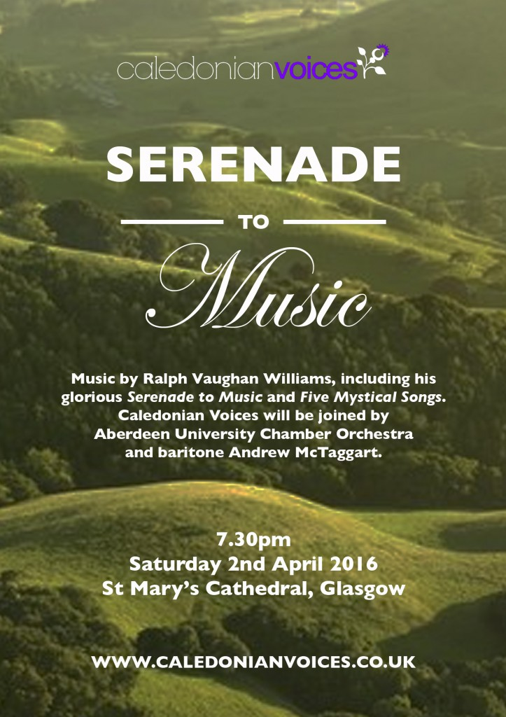 Serenade to Music poster